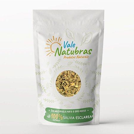 Chá de Sálvia Esclarea - Salvia esclarea 30g - Vale Natubras