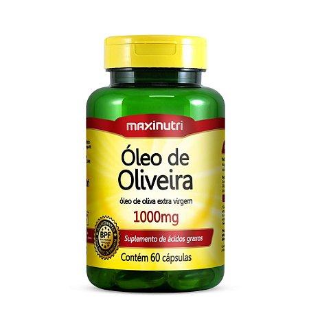 Óleo de Oliveira 1000 mg 60 Caps - Maxinutri