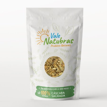 Chá de Cáscara Sagrada - Rhamnus purshiana - D.C. 30g - Vale Natubras