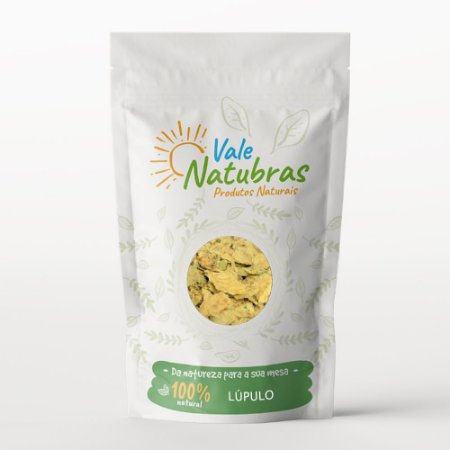 Chá de Lúpulo - Humulus lupulus - L. 20G - Vale Natubras