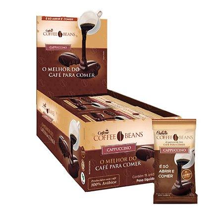 Coffee Beans - O Café Para Comer (15 unidades) - Sabor Cappuccino