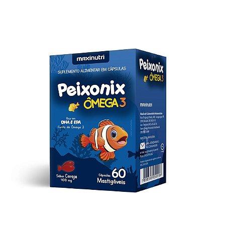 Peixonix Omega 3 60 Caps - Maxinutri