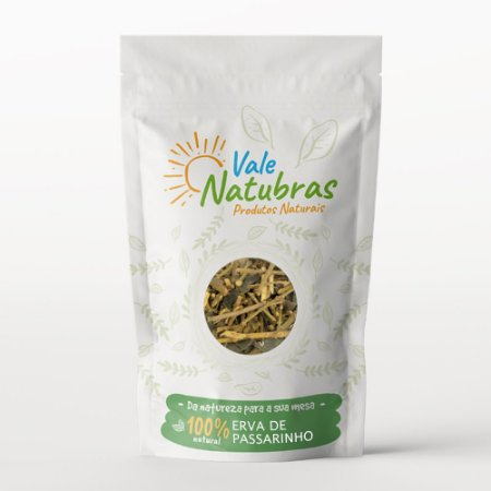 Chá de Erva de Passarinho - Struthanthus flexicaulis Mart. 30g - Vale Natubras