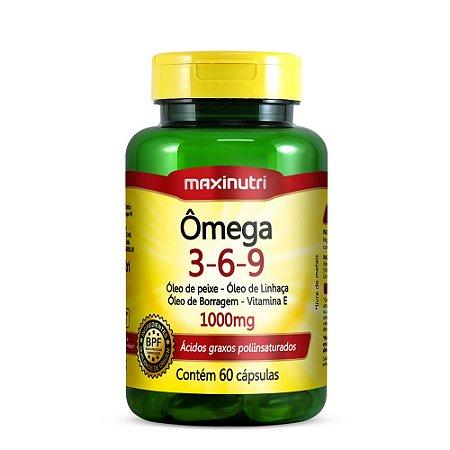 Omega 3-6-9 60 caps - Maxinutri