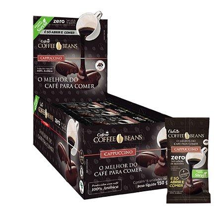 Coffee Beans - O Café Para Comer (15 unidades) - Sabor Cappuccino Zero