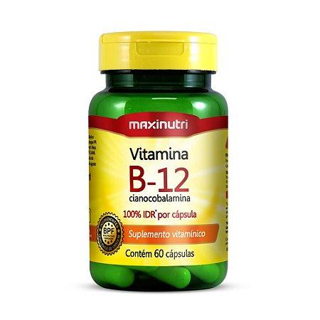 Vitamina B-12 60 caps - Maxinutri
