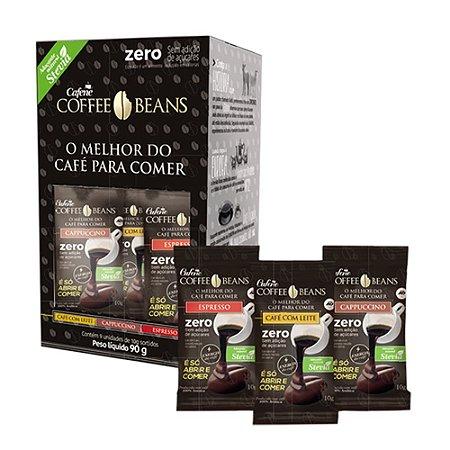 Cafe Para Comer - Coffee Beans Cafe Comestivel 90g (9 unidades) - Zero Sortido