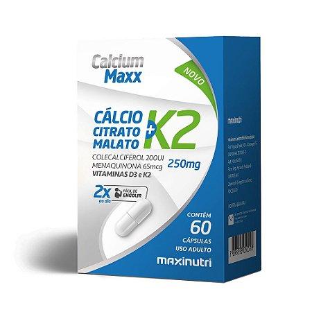 Calcium Maxx + K2 60 caps - Maxinutri
