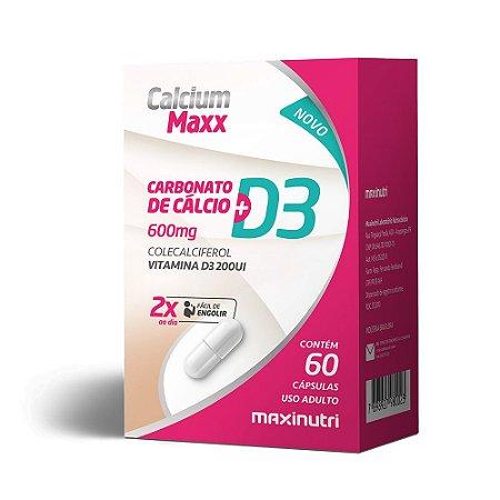 Calcium Maxx + D3 60 Caps - Maxinutri