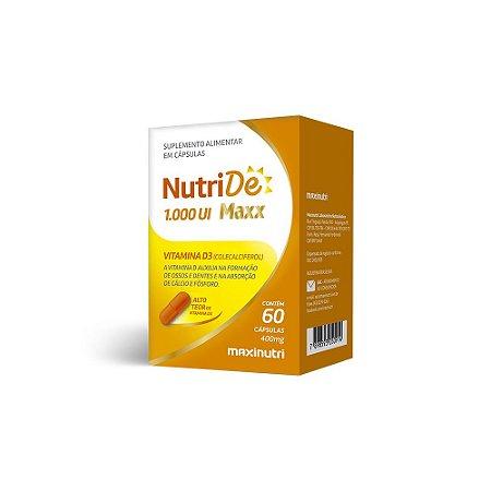 Nutride Maxx 1.000 UI 60 caps - Maxinutri