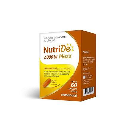 Nutride Maxx 2.000 UI 60 caps - Maxinutri