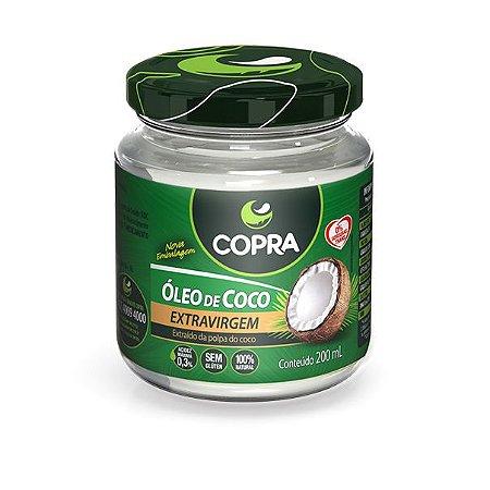 Óleo de Coco Extra Virgem 200ml - Copra
