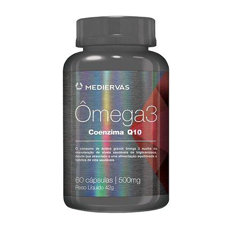 Ômega 3 + Coenzima Q10 500mg - 60 Caps