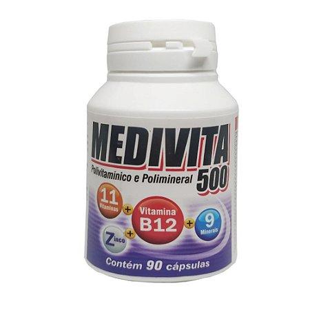 Medivita 500 Mediervas - 120 Caps