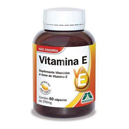 Vitamina E Mediervas - 60 Caps