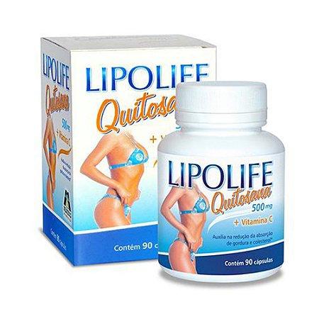Lipolife Quitosana com Vitamina C - 90 Caps