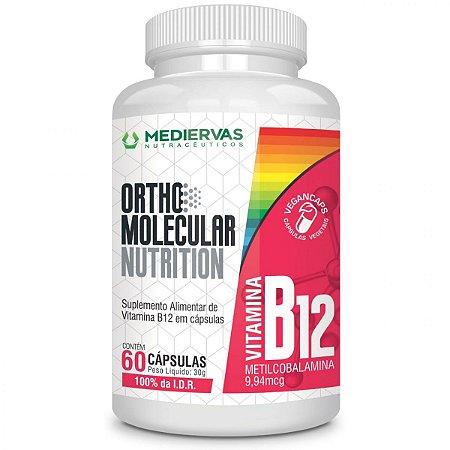 Metilcobalamina - Vitamina B12 - 60 Cápsulas - Mediervas