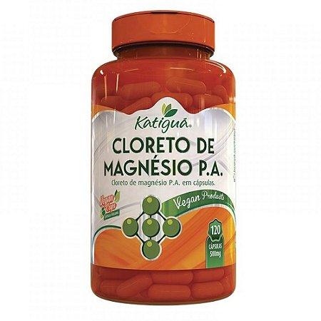 Cloreto de Magnésio P.A. - 120 caps