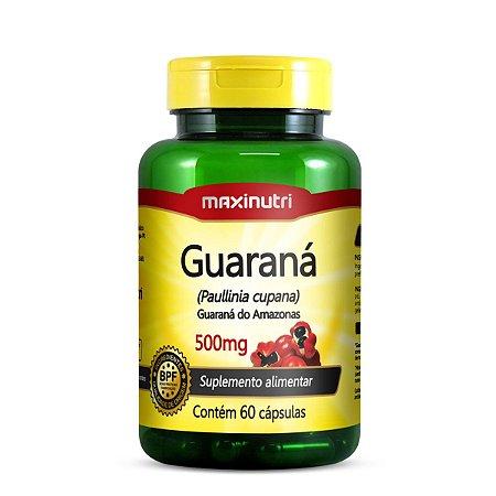 Guaraná 60 caps - Maxinutri