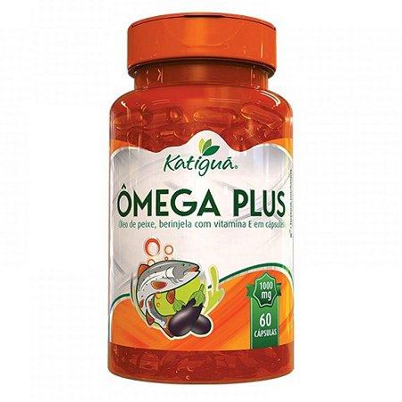 Ômega 3 + Berinjela e Vitamina E - 60 caps
