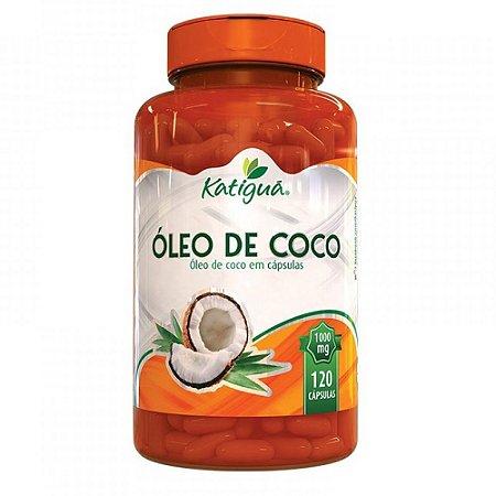 Óleo de Coco 120 caps - Katigua