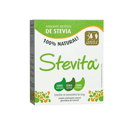 Adoçante Natural Stevita - Sache 50 X 0,8g
