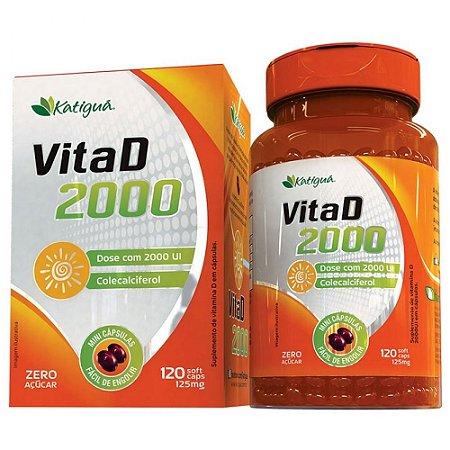 Vita D 2000 - 60 caps 125mg - Katigua