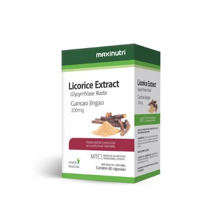Licorice Extract (Glycyrrhizae Radix) 60 caps - Maxinutri