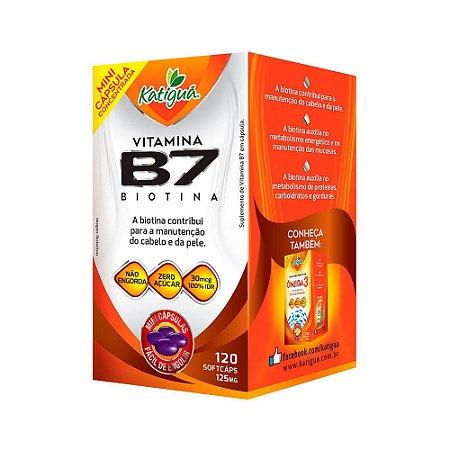 Vitamina Complexo B7 120 mini caps - Katigua