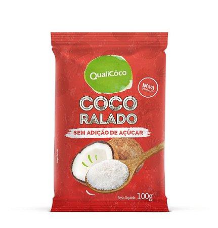 Coco Ralado Sem Açúcar 100g - Qualicoco