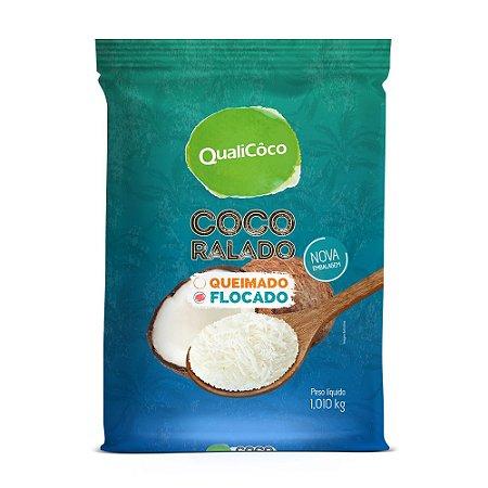 Coco Ralado Flocado 100g - Qualicoco