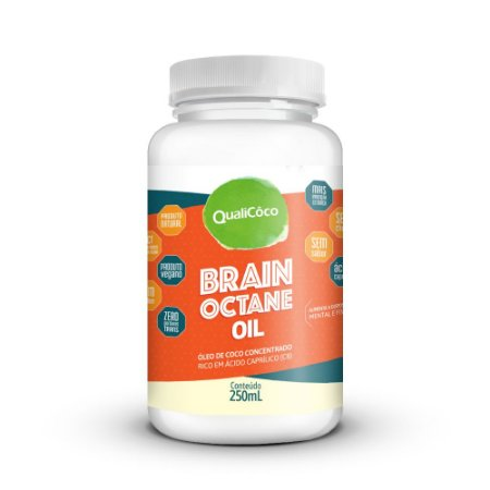 Brain Octane Oil 250ml - Qualicoco