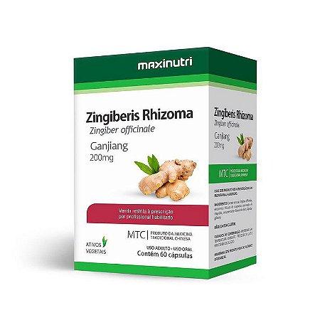 Gengibre (Zingiber Officinale) 60 caps - Maxinutri