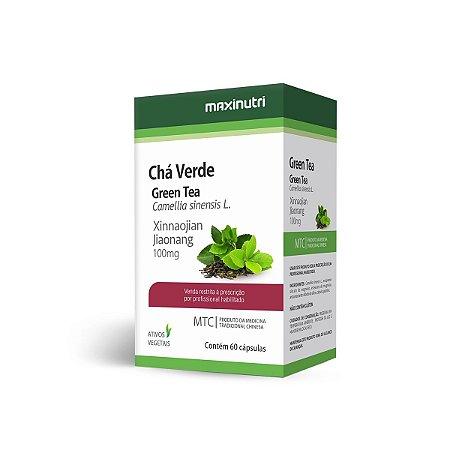Chá Verde (Camellia Sinensis) 60 caps - Maxinutri