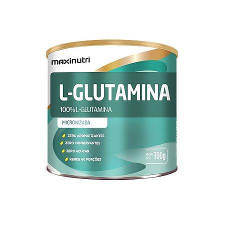 L-Glutamina 300g - Maxinutri