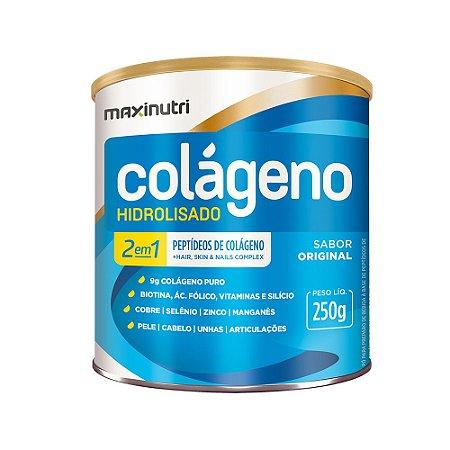 Colágeno Hidrolisado Original 2em1 250g - Maxinutri