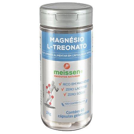 Magnésio L-Treonato 60 cápsulas - Meissen