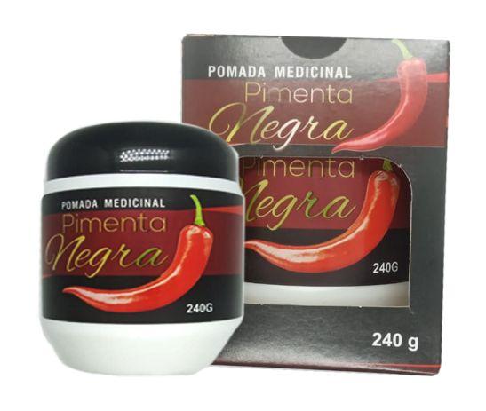 Pomada Medicinal Pimenta negra 240g - Apinil
