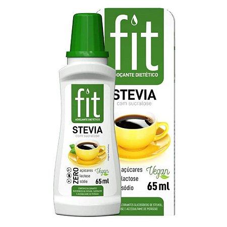 FIT Stevia com Sucralose 65 ml - Stevia soul
