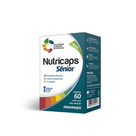 Nutricaps Senior 60 caps - Maxinutri