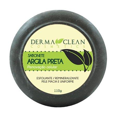 Sabonete de Argila Preta 110g - Derma Clean