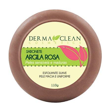 Sabonete de Argila Rosa 110g - Derma Clean