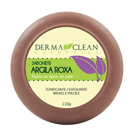 Sabonete de Argila Roxa 110g - Derma Clean