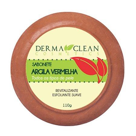 Sabonete de Argila Vermelha 110g - Derma Clean
