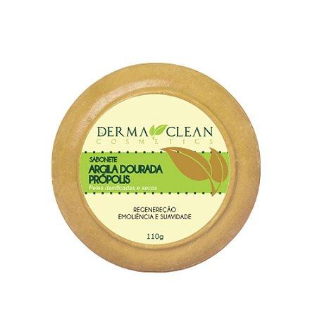 Sabonete de Argila Dourada com Própolis 110g - Derma Clean
