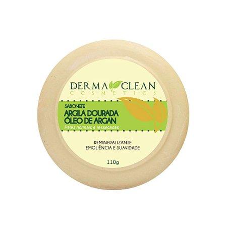 Sabonete de Argila Dourada com Argan 110g - Derma Clean