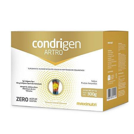 Condrigen Artro 300g (30x10g) Frutas Amarelas - Maxinutri