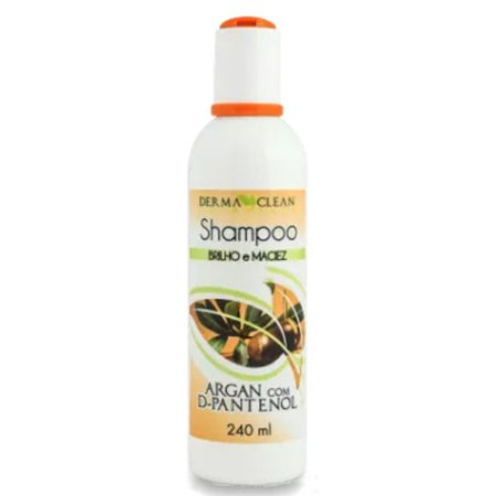 Shampoo de Argan com D-Pantenol 240ml