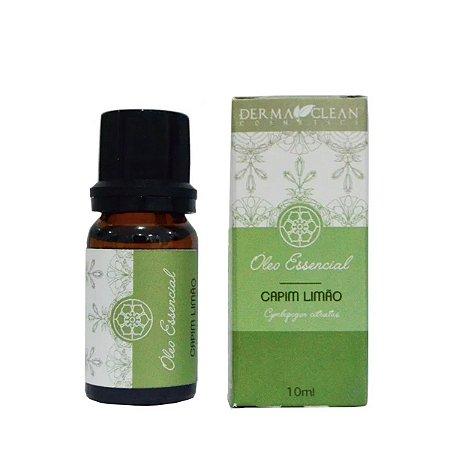 Óleo essencial de Capim Limão 10ml - Derma Clean