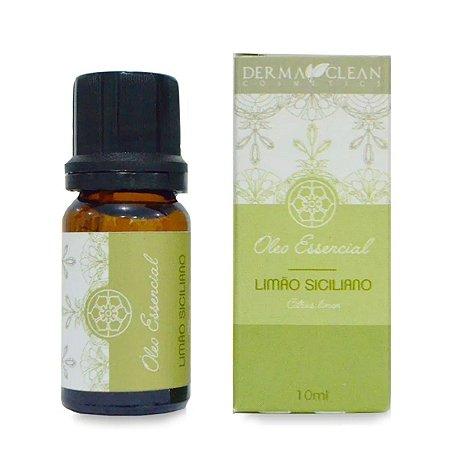 Óleo essencial de Limão Siciliano 10ml - Derma Clean